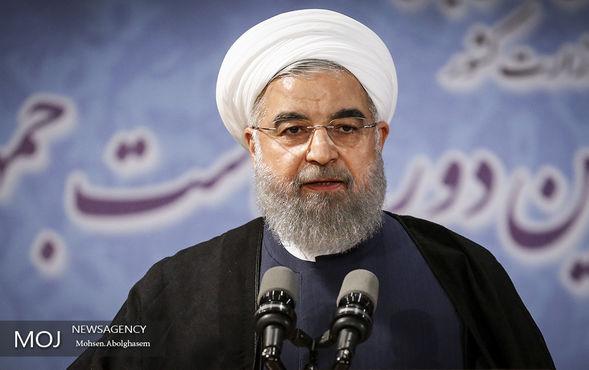 صحبت های روحانی در رادیو ایران