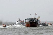 کشف 120 هزار لیتر گازوئیل قاچاق در مرزهای آبی هرمزگان/دستگیری 14 متهم