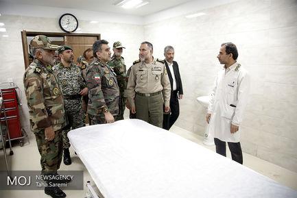 افتتاح بیمارستان نزاجا