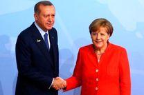 تاکید مرکل و اردوغان  بر حفظ تمامیت ارضی سوریه