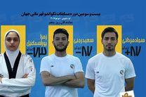 ایران با سه نماینده در روز پنجم مسابقات تکواندو قهرمانی جهان