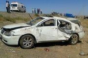 تصادف مرگبار یک سواری لیفان با 2 عابر پیاده