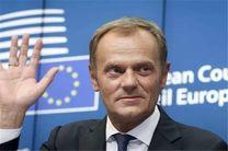 مخالفت رئیس شورای اروپا با آغاز فوری مذاکرات تجاری با انگلیس