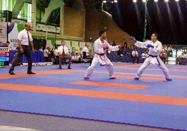 مهدیزاده در گام نخست بازیهای جهانی کاراته شکست خورد