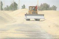 خبر دفن ۴۰۰ روستا زیر طوفان شن کذب است