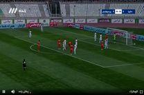 نتیجه بازی پرسپولیس و سایپا در نیمه نخست
