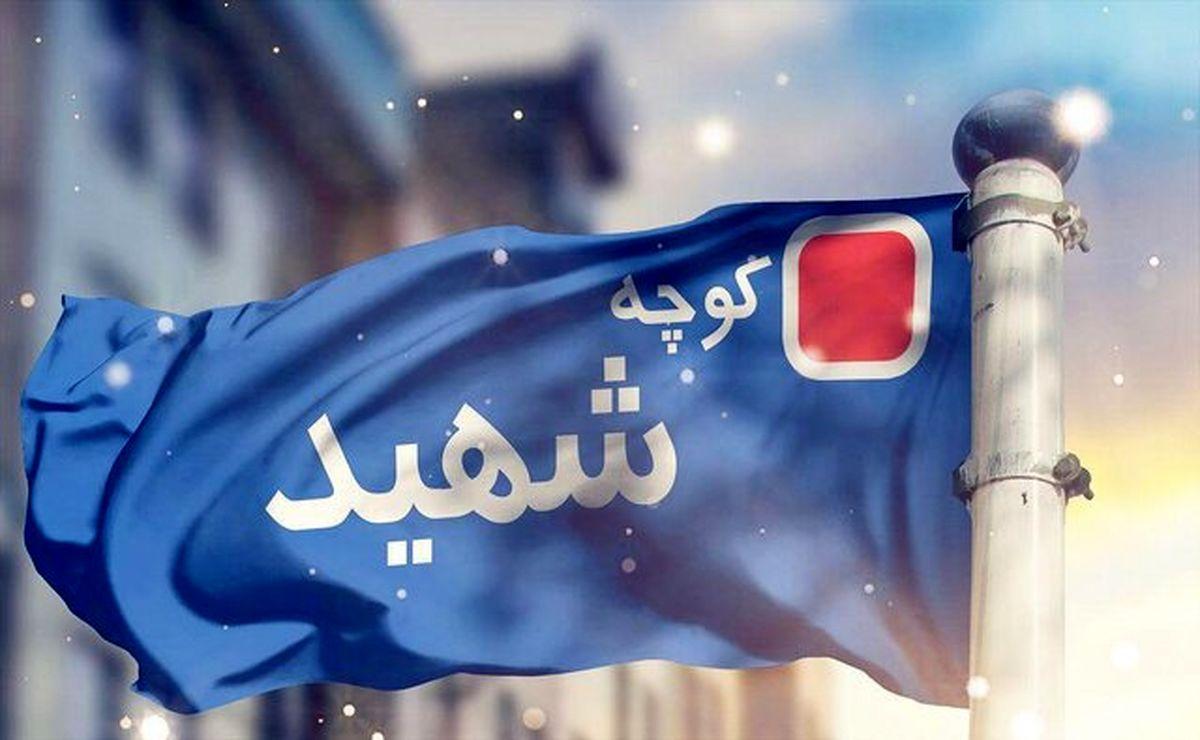 اطلاعات هویتی به تابلوهای جدید کوچه شهید افزوده شدند