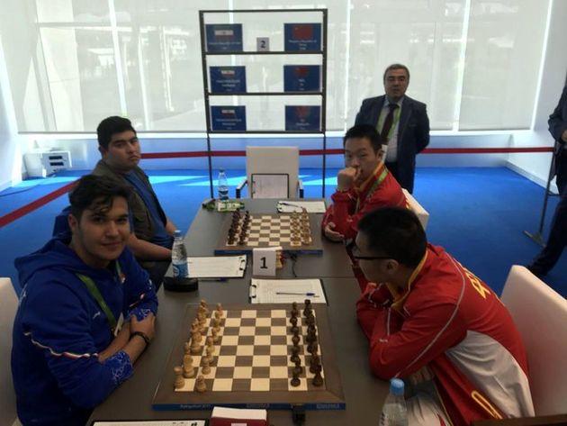 پنجمی بهترین رتبه تیم شطرنج ایران در بخش سریع