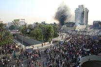 اعتراضات در بغداد، 2 کشته و 38 مجروح برجا گذاشت