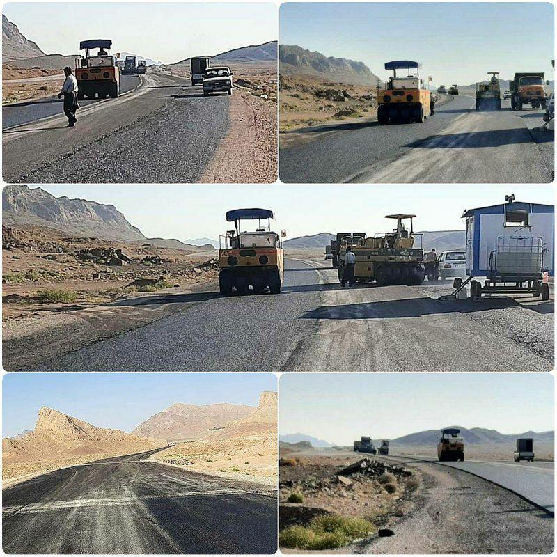 جاده اردستان - اصفهان ۹۰ درصد پیشرفت فیزیکی دارد