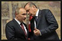 اردوغان با پوتین گفت وگو کرد