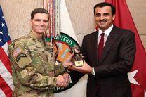 امیر قطر با ژوزف ووتل درباره همکاریهای استراتژیک بین واشنگتن و دوحه با یکدیگر دیدار کردند
