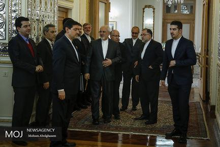 حاشیه دیدار وزیر خارجه انگلیس با ظریف