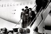 مراسم گرامیداشت سالگرد ورود امام راحل به کشور در فرودگاه مهرآباد آغاز شد
