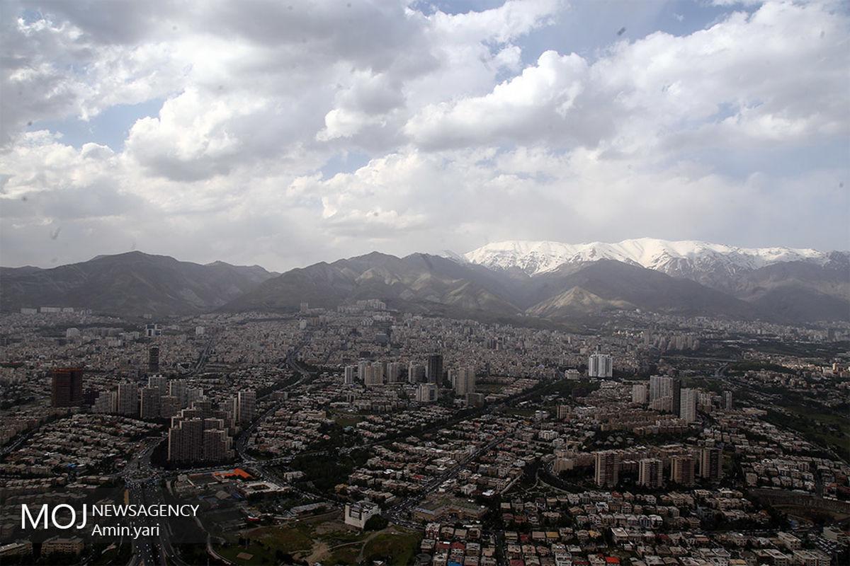 کیفیت هوای تهران ۲۸ بهمن ۹۹/ شاخص کیفیت هوا به ۸۰ رسید