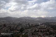 کیفیت هوای تهران ۲۷ فروردین ۹۹/ شاخص کیفیت هوا به ۸۷ رسید