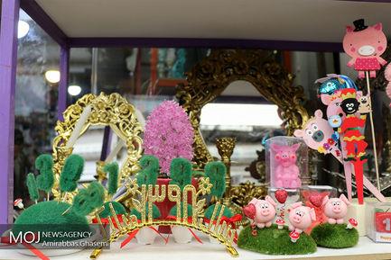 بازار گل محلاتی در آستانه عید نوروز