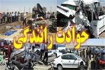 1 کشته و یک مصدوم در انحراف سواری تیبا در جاده اصفهان- شهرکرد
