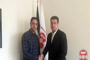 تمدید قرارداد حسینی با باشگاه گیتی پسند