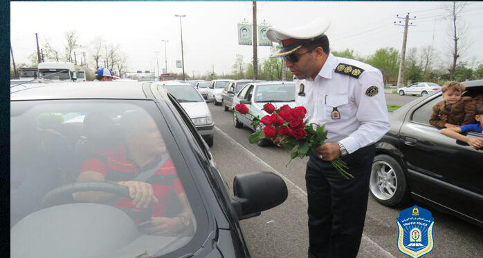 مراسم استقبال از میهمانان و مسافران نوروزی انجام شد