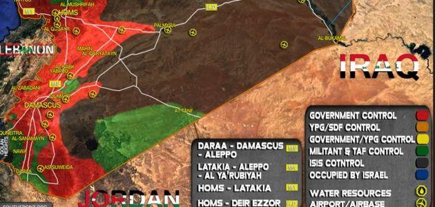 داعش کنترل مناطقی در نزدیکی مرز سوریه با اسرائیل را به دست گرفت