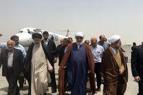 حجتالاسلام رئیسی وارد اهواز شد