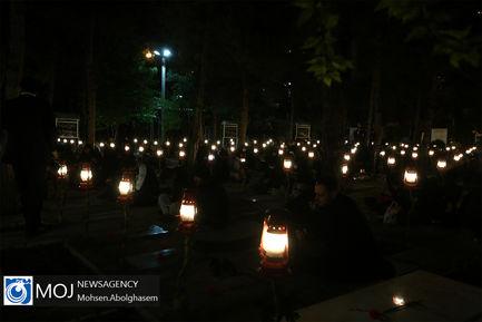 احیای شب نوزدهم ماه مبارک رمضان در گلزار شهدای بهشت زهرا (س)