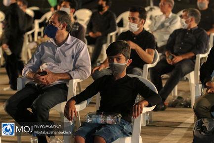 عزاداری شب سوم ماه محرم در هییت عاشوراییان اصفهان