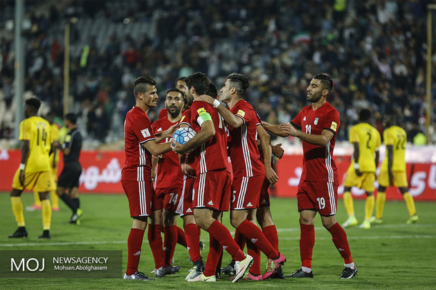 ایران در سید سه جام جهانی قرار گرفت