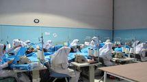 آموزشگاه های آزاد کردستان توان تولید روزانه حدود 10 هزار عدد ماسک را دارند