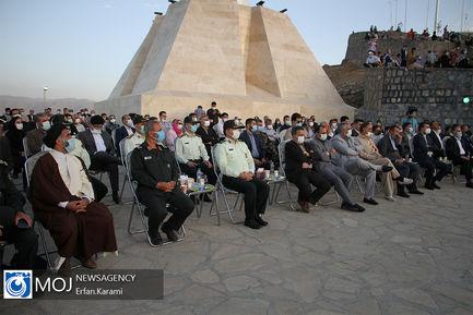 رونمایی از بزرگترین پیکره ایثار و مقاومت مردم کردستان