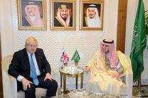 دیدار وزرای خارجه بریتانیا و عربستان سعودی