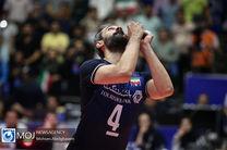 گزارش زنده بازی والیبال ایران و چین/ ایران 3 چین 0