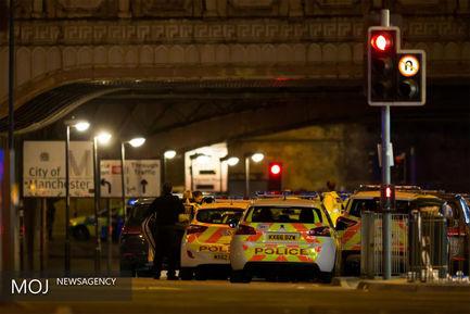 انفجار بمب در شهر منچستر انگلیس