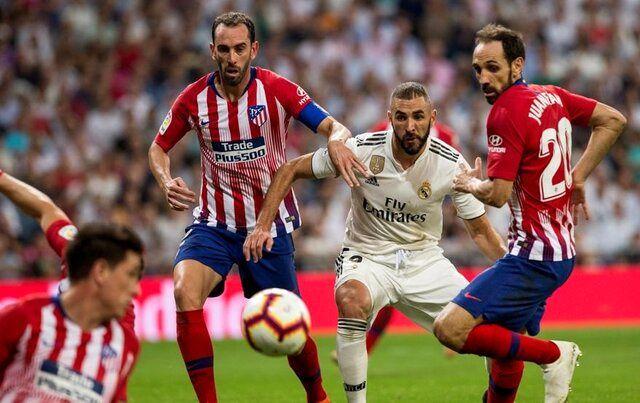 اتلتیکومادرید و رئال مادرید امشب به مصاف هم می روند