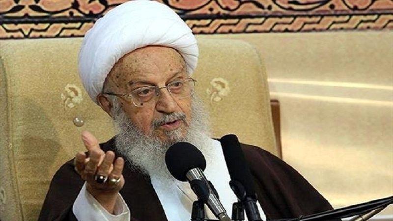 تاکید مرجع تقلید شیعیان بر برپایی کلاسهای حوزه علمیه به صورت حضوری