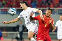 رنگ پیراهن تیم های ملی فوتبال ایران و چین مشخص شد