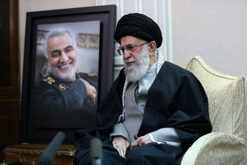 The Leader of Islamic Revolution vowed a tough revenge for Gen. Soleimani's martyrdom