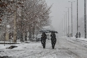 بارش برف زمستانی در خوانسار و فریدونشهر