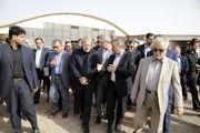 رئیس مجلس شورای اسلامی از روند احداث پروژه فرودگاه قم بازدید نمود