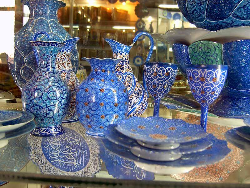 فروش ۲۴۵ میلیارد ریالی صنایع دستی  اصفهان در نوروز 97