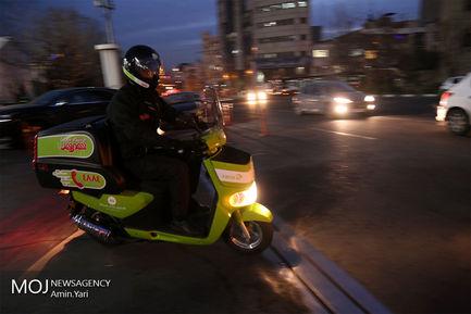 رونمایی از ناوگان موتوری جدید فروشگاه مجازی شهروند