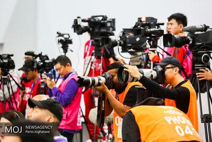نشست خبری و تمرین تیم ملی فوتبال قبل از دیدار با چین