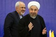 قدردانی ظریف از حمایت های رئیس جمهور