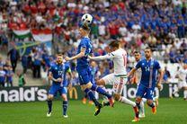 ایسلند و مجارستان به تساوی رضایت دادند