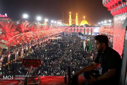 مراسم عزاداری اربعین حسینی در حرم مطهر حضرت عباس (ع)
