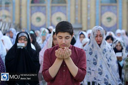 نماز عید فطر در امامزاده صالح (ع) تجریش
