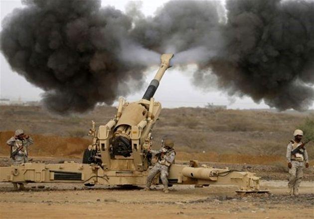 حمله گسترده نیروهای یمنی به مواضع مزدوران عربستان در تعز
