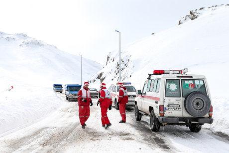 22 استان درگیر برف و کولاک/ اسکان اضطراری بیش از 2 هزار نفر