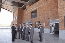 مدیرعامل بانک مهر اقتصاد از بازارچه مرزی پرویزخان بازدید کرد